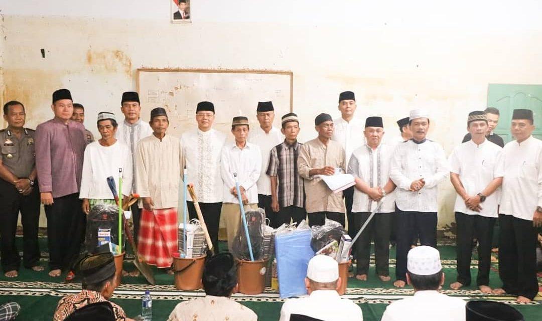 BPBD Dampingi Gubernur Mengunjungi Desa Genting