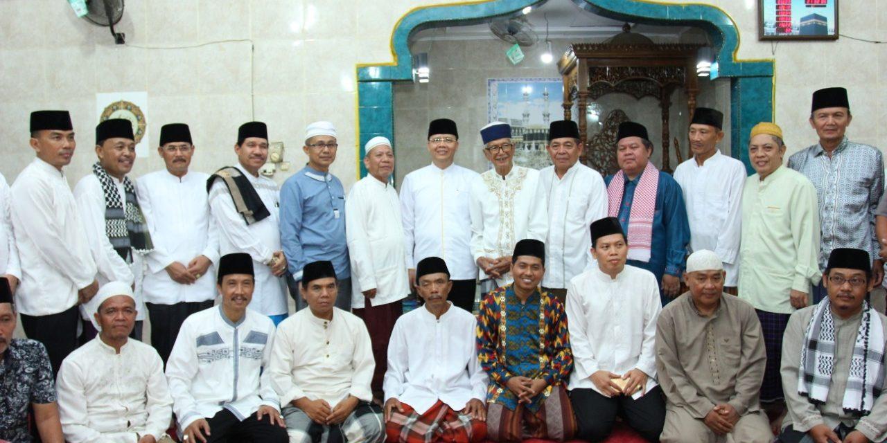 Gubernur Kunjungi Masjid Akbar Rawa Makmur Permai