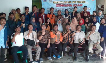 Sosialisasi Mitigasi Bencana, BPBD Provinsi Kunjungi Selupu Rejang