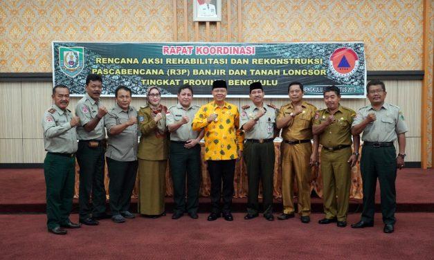 Bengkulu Targetkan Rehab Rekon Tuntas 2020-2021