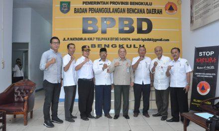 Datangi BPBD Provinsi, BNPB RI : Penanggulangan Bencana Pakai SOP