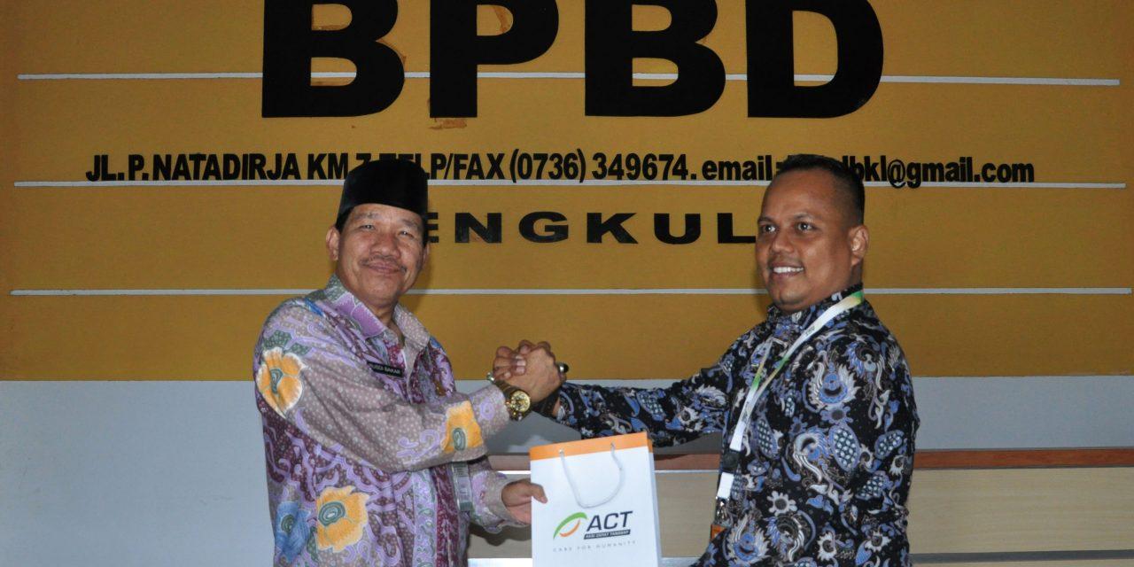 BPBD-ACT Siapkan Kerjasama Kebencanaan