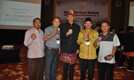 Peduli Gempa Maluku, BPBD Bengkulu Salurkan Bantuan 10 Juta