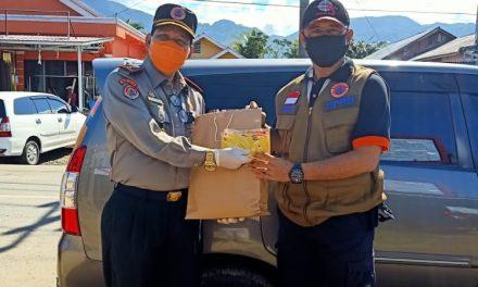 BBPBD Provinsi Bagikan 500 Masker