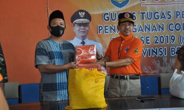 Posko Gustu Covid-19 Serahkan 500 Masker Untuk Pemuda Muhammadiyah