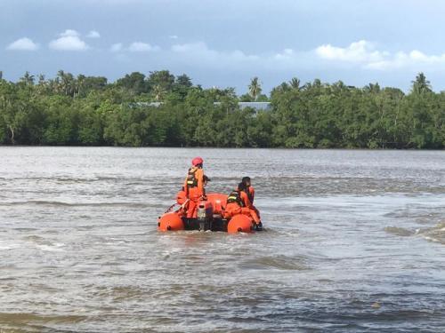 TRC BPBD Provinsi Siaga Pencarian Korban Tenggelam Muara II