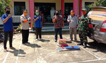 Terisolir, 191 KK Terdampak Longsor di Bengkulu Utara Dapat Bantuan Sembako