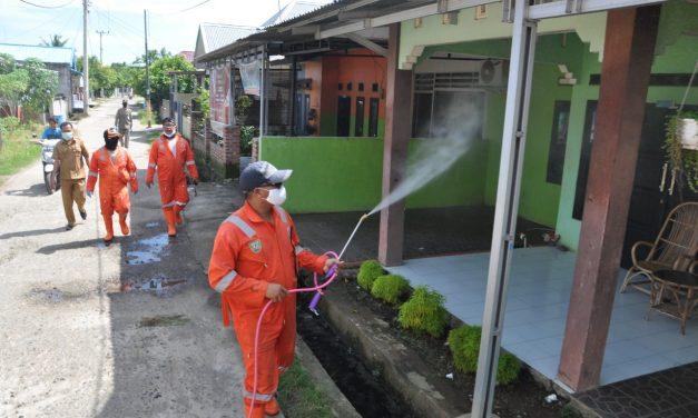 New Normal Life, Penyemproran Disinfektan Tetap Dilaksanakan