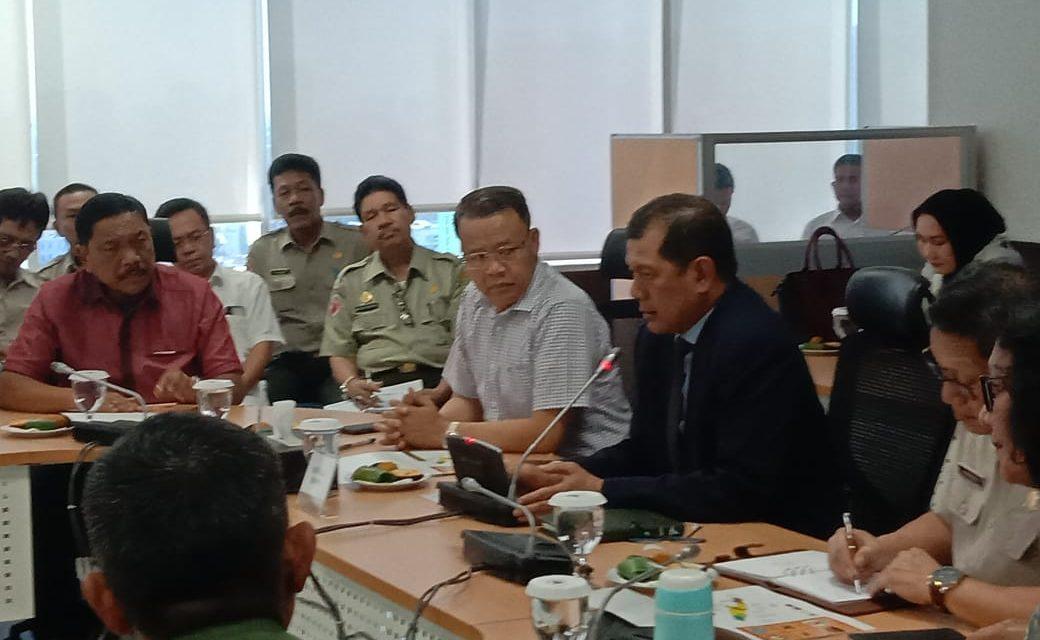Gubernur Bengkulu Ekspos Kebutuhan Pasca Bencana di BNPB