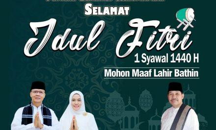 Keluarga Besar BPBD Provinsi Bengkulu Mengucapkan Selamat Idul Fitri 1440 H Mohon Maaf Lahir dan Batin