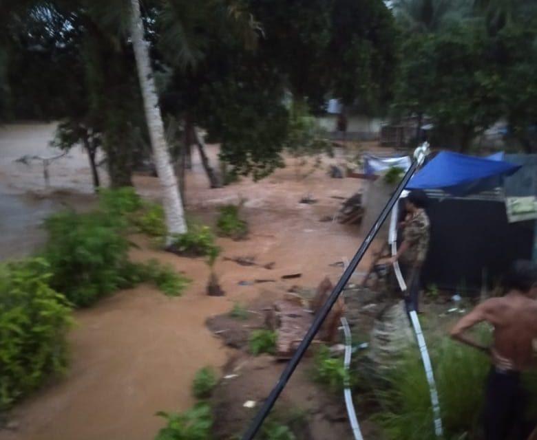 Banjir Desa Air Napal, 19 KK Mengungsi