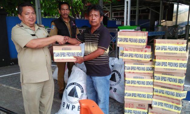 BPBD Salurkan Bantuan Untuk Kebakaran Bumi Ayu
