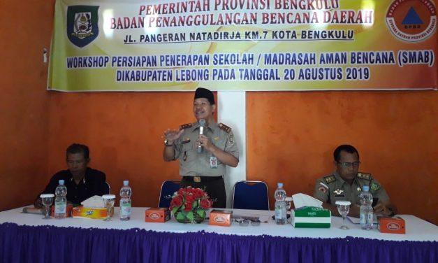 Mitigasi Bencana, BPBD Provinsi Workshop Sekolah Siaga Bencana