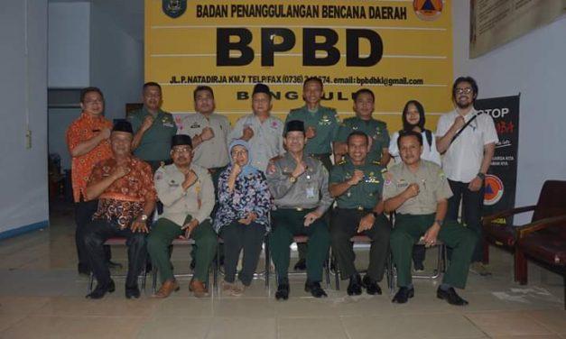 BPBD-Korem Segera Persiapkan Program Kebencanaan