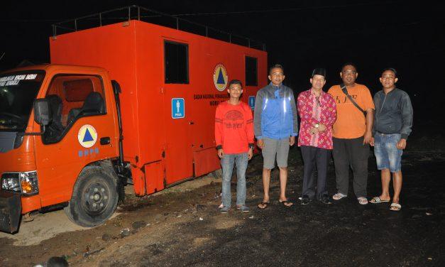Mobil Toilet dan Tangki Air BPBD Provinsi Standby di Arena MTQ Provinsi