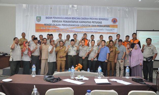 BPBD Provinsi Gelar Pelatihan Pengelolaan Logistik dan Peralatan