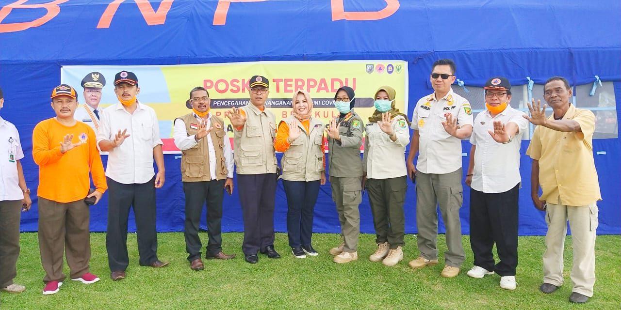Antisipasi Hadapi Corona, BPBD Provinsi Dirikan Posko Di RS. M Yunus